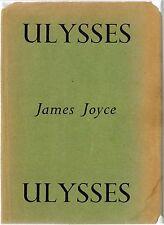 James Joyce Ulysses Unlimited Edition 4th Printing 1949 Bodley Head