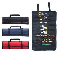 Multifunction Folding Wrench Bag Tool Roll Storage Pocket Tools PouchOrganizeR8Y