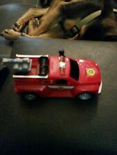Matchbox RESCUE NET - Fire Rescue Truck MOTORIZED LIGHTS & SOUNDS WORKS