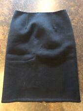 Bottega Veneta Black 3-4 Ply Boiled Cashmere Skirt 40 4