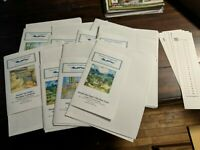 Orenco Originals - Lot of 8 Counted Cross Stitch Charts Van Gogh & Other Artists