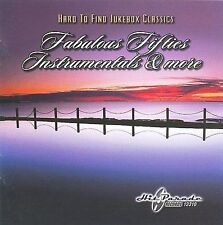 CD: HARD TO FIND JUKEBOX CLASSICS Fabulous Fifties Instrumentals & More NM