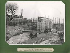 PONT DE L'ARC RECONSTRUCTION AU 22 NOVEMBRE 1944 AIX EN PROVENCE