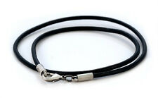 "BICO Australia Jewelry 20"" Leather Choker Necklace CL7 - Very Comfortable!"