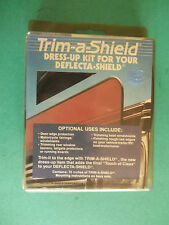 Trim-A-Shield (Dress-Up Kit (For Your Sun Visor & Door Edge Protection And More)