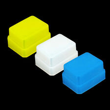 3 Colore Blu Giallo Bianco Diffusore Flash Bounce Soft Cap Metz 48 50 58 AF-1 AF-2