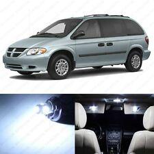 20 x White LED Interior Light Package For 2001 - 2007 Dodge Caravan + PRY TOOL