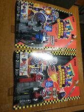 Crash Dummies Junkbot Lot Tyco New Sideswipe Piston Head Figure