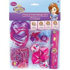 Disney Sofia the First Birthday Party Supplies 48PC Mega Value Favor Pack