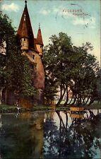 Augsburg Bayern Schwaben AK 1911 Fünfgrat Turm Wehrturm gelaufen nach Rixdorf