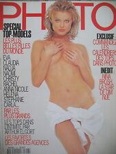 magazine PHOTO N° 316 SPECIAL TOP MODELS HERZIGOVA CAMPBELL BRUNI AUERMAN 1994