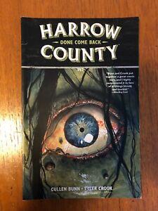 HARROW COUNTY VOL 8: DONE COME BACK by CULLEN BUNN & TYLER CROOK Dark Horse