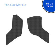 Suzuki Carry 1999-2006 Fully Tailored Black Rubber Van Mats With Blue Binding