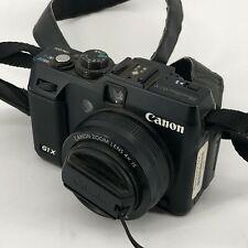 CANON POWERSHOT G1X PC1674 4352X3264 DIGITAL CAMERA
