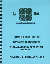 KING KX 170A / KX 175   INSTALLATION MANUAL