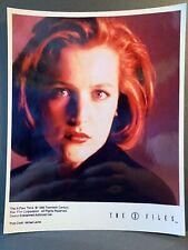 X-Files Creation Colour 10x8 Photo - Dana Scully GILLIAN ANDERSON - C