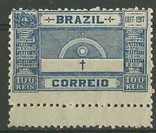 BRAZIL1917 PERNAMBUCO CENTENARY 100 r BLUE MINT