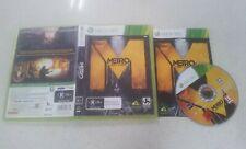 Metro Last Light Xbox 360 Game USED PAL Region