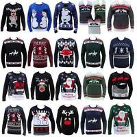 noël tricot HUMOUR grossier pour hommes femmes nouveauté Pull tricot