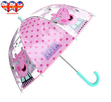 Peppa Pig Transparency Umbrella ,Kids Umbrella ,Officially Licensed