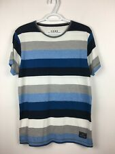 Jack & Jones CORE Men's Stripped T-Shirt Sz Large EUC
