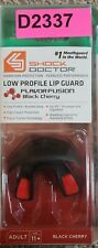 Shock Doctor Low Profile Lip Guard Flavor Fusion Black Cherry Mouthguard Adult