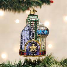 Forbidden City Palace Travel Beijing China Glass Christmas Tree Ornament 110118