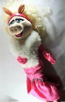 The Muppets Disney Store Large Miss Piggy Soft Toy Plush Jim Henson BNWT Pink