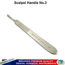 Cirugía dental instrumentos quirúrgicos Escalpelo Mango Tamaño 3 cirugía médica herramientas