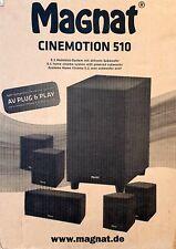 Magnat Cinemotion 510 Kompaktes 5.1 Heimkinosystem aktivem Subwoofer (C6540-RG)