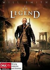 I AM LEGEND - BRAND NEW & SEALED DVD (WILL SMITH) REGION 4