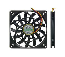 Pq705 Scythe Kaze Jyu Slim 100mm 2000rpm case / hdd fan 3 & 4 pin 92mm de montage