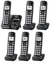 Panasonic KX-TGD564M plus two KX-TGDA51M Bluetooth Cordless Phone - 6 Handsets!