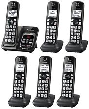 Panasonic KX-TGD564M plus two KX-TGDA51M Bluetooth Cordless Phone - 6 Handsets!