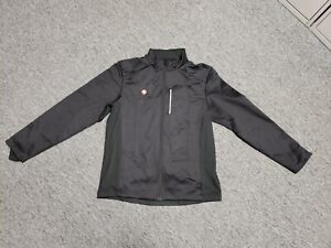 Przewalski Soft Shell Cycling Thermal Jacket Mens XL Black Wind Water Resistant