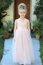 Sweetheart Neckline Cross Straps A-Line Flower Girl Dresses Pageant Dresses 173