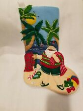 FINISHED BUCILLA STOCKING CHRISTMAS IN JULY SALE