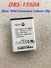 DBS-1350A NEW original Battery For Doro 7050 Consumer Cellular Flip 1350mAh