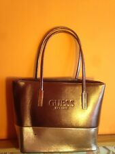 Guess.handbag.bronze top, rose bottom. Perfect present, or for party's
