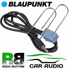 BLAUPUNKT Malaga CD coche MP3 iPod iPhone Entrada Aux 3.5mm Jack Cable de plomo