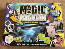 Jacks Magic Magician Set 150 Mind Altering Tricks Age 10+ Complete