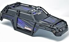 Summit UPDATED BODY (PURPLE & BLACK ExoCage Cover exocage Shell Traxxas #5607
