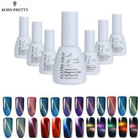 BORN PRETTY Cat Eye UV Gel Nail Polish Soak Off 3D Chameleon Magnetic Gel 5/10ml
