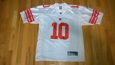 #10 Eli Manning White NY Giants Size 48 FOOTBALL on field JERSEY vintage