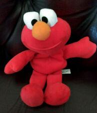 """Vintage Elmo Soft Plush Beanie Toy Sesame Street 1997 TYCO  8"""" Height"""