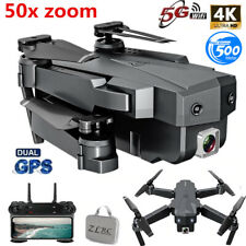 Best Drone 4K with HD Camera WIFI 1080P Camera Follow Me Quadcopter FPV GPS