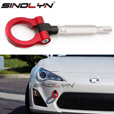 Sports Red Track Racing CNC Aluminum Tow Hook For 15-2017 Subaru WRX STI BRZ