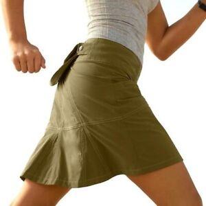 Athleta Hit the Trail Skort Skirt Women's Size 10 Green  405141
