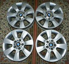 4 x Original Alufelgen BMW 6766734 16 Zoll 7x16 ET47 5x120 Sternspeiche 169