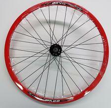 Red Fixie Fixed Gear Freewheel Single Speed Track Wheelset 700c Bearings